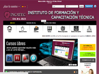Abrir pagina web de INCATEC